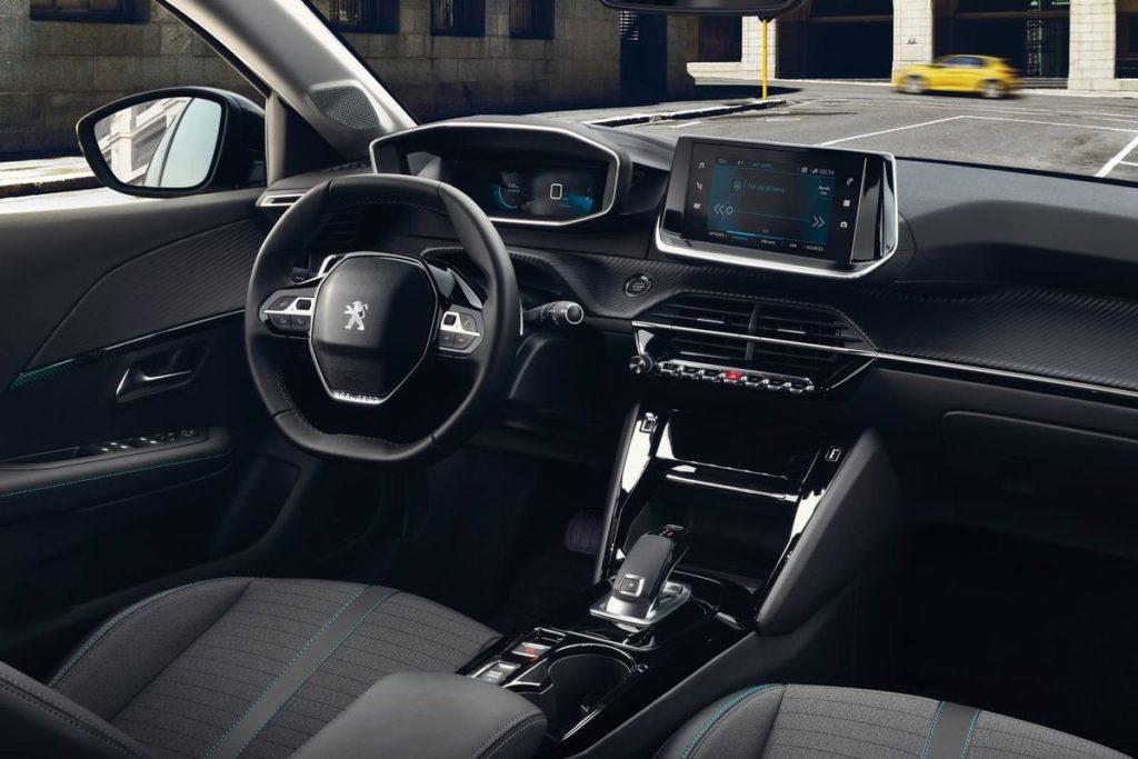 Nový Peugeot 208 - interiér
