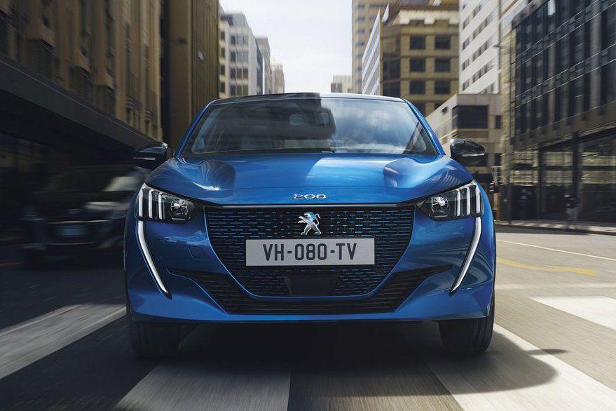 Nový Peugeot e-208